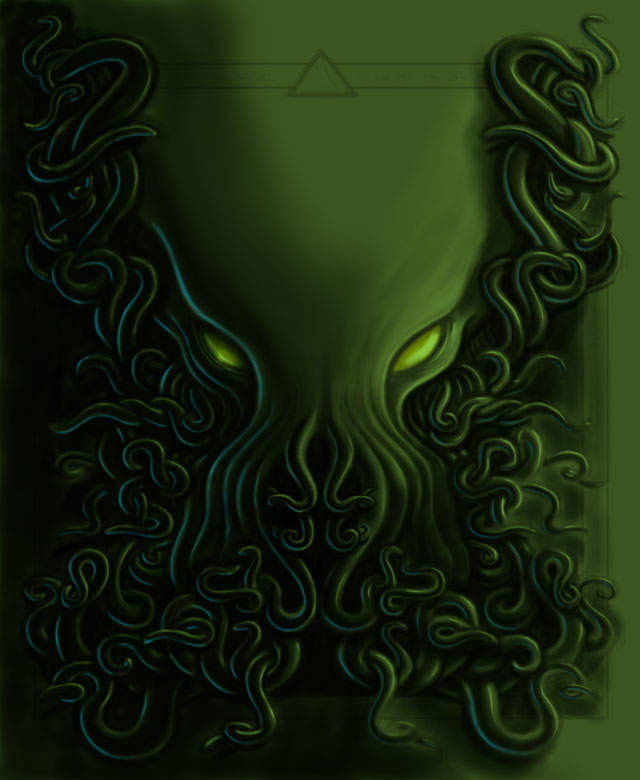 Cthulhu color sketch