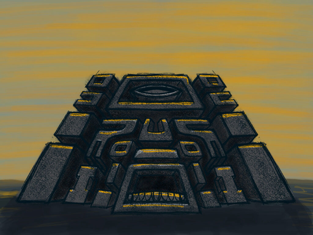 Earth Temple sketch