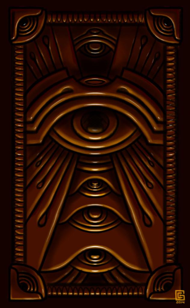 Mystic Eye Design Sketch 9