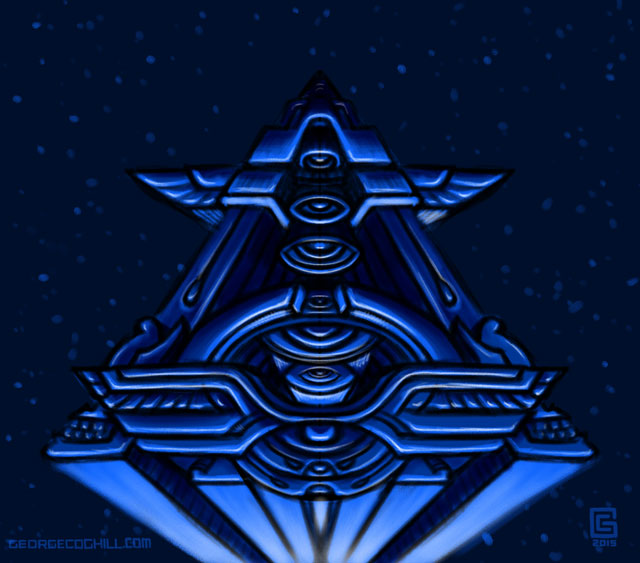 Mystic Eye Pyramid 1 Sketch Coghill