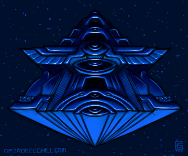 Mystic Eye Pyramid 2 Sketch Coghill