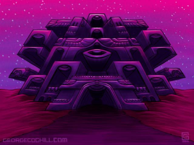 Far Fortress 01 Sketch Coghill